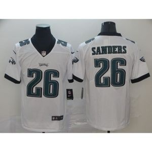 Philadelphia Eagles Miles Sanders White Jersey